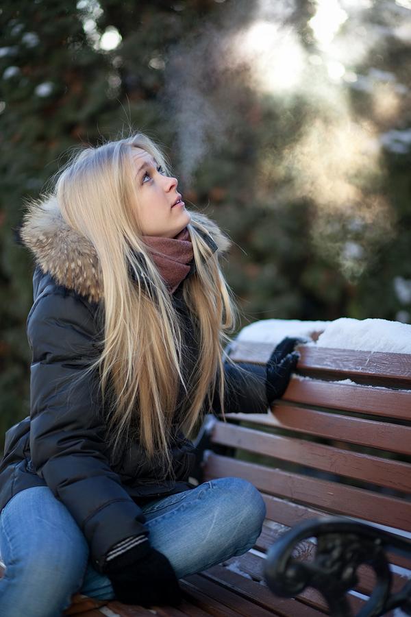 Фото анастасии шевченко зимой