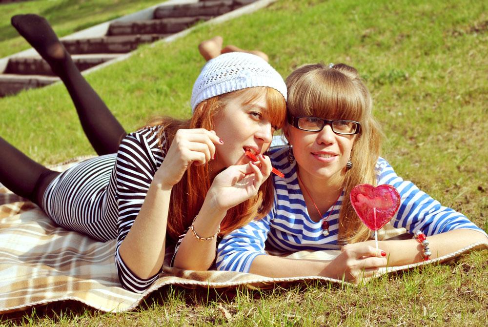 Фото с подружками на отдыхе 10 фотография